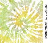 tie dye pattern. hand drawn... | Shutterstock . vector #679621882