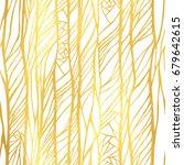 abstract golden seamless...   Shutterstock .eps vector #679642615