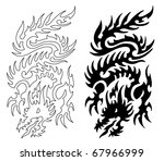 dragon | Shutterstock . vector #67966999