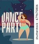 dance party   vector... | Shutterstock .eps vector #679670806