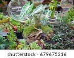 close up rectangular... | Shutterstock . vector #679675216