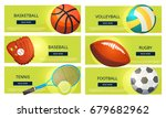 Sports Balls And Equipment...