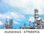 close up industrial zone. plant ... | Shutterstock . vector #679686916