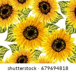 Beautiful Seamless Pattern Wit...