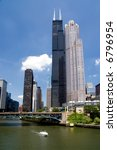 a view of chicago looking north ... | Shutterstock . vector #6796954