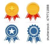 award ribbon   Shutterstock .eps vector #679711888