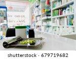 drug prescription for treatment ... | Shutterstock . vector #679719682