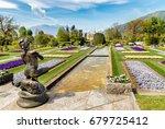 Landscape Of Botanical Gardens...