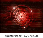 abstract technology theme... | Shutterstock .eps vector #67973668