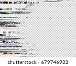 glitch background. computer... | Shutterstock .eps vector #679746922