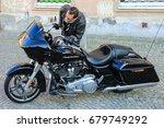 one man checking carefully... | Shutterstock . vector #679749292