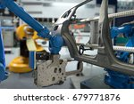 automobile manufacturing... | Shutterstock . vector #679771876