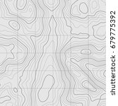 background of the topographic... | Shutterstock .eps vector #679775392