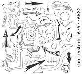 vector collection of various... | Shutterstock .eps vector #679776832