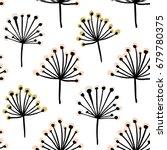 elegant seamless pattern with... | Shutterstock .eps vector #679780375