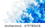 color drop in water isolated on ... | Shutterstock . vector #679780618