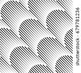 vector seamless pattern. modern ... | Shutterstock .eps vector #679781236