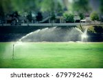 lawn watering  watering sports... | Shutterstock . vector #679792462
