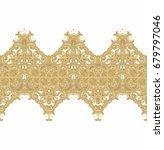 seamless ornamental vector... | Shutterstock .eps vector #679797046