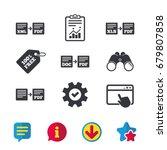 export file icons. convert doc...   Shutterstock .eps vector #679807858