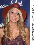 Small photo of Los Angeles, CA, USA; March 01, 2012; Elise Testone arrives to the American Idol Finalist Party.