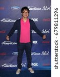 Small photo of Los Angeles, CA, USA; March 01, 2012; Heejun Han arrives to the American Idol Finalist Party.