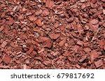Texture Of Decorative Sawdust...