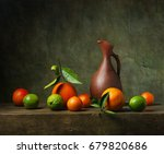 Still Life With Citrus Fruit...