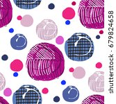 vector seamless  pattern with...   Shutterstock .eps vector #679824658