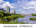 the view of kurgan city with a... | Shutterstock . vector #679826212