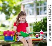 child going back to school.... | Shutterstock . vector #679831972