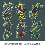 vector electronic objects and... | Shutterstock .eps vector #679836256