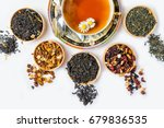 tea  cup of tea  various kinds... | Shutterstock . vector #679836535