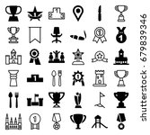 place icons set. set of 36...   Shutterstock .eps vector #679839346