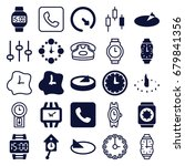 dial icons set. set of 25 dial... | Shutterstock .eps vector #679841356