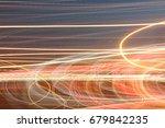 light neon painting photography ... | Shutterstock . vector #679842235