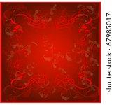 beautiful celebratory card a... | Shutterstock .eps vector #67985017