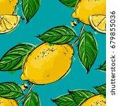 seamless vector abstract... | Shutterstock .eps vector #679855036