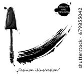 vector illustration of mascara. ... | Shutterstock .eps vector #679855042