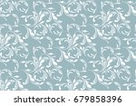 floral seamless pattern. soft... | Shutterstock .eps vector #679858396