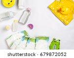 babies goods diaper  baby...   Shutterstock . vector #679872052