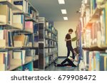young students asian together...   Shutterstock . vector #679908472