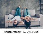 go crazy together  relaxing... | Shutterstock . vector #679911955