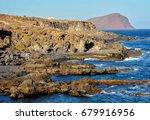 sunset on the atlantic ocean... | Shutterstock . vector #679916956