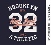 new york brooklyn sports...   Shutterstock .eps vector #679918252