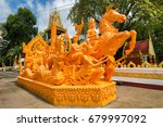 Candle Festival In The Buddhist ...