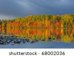 Autumn Landscape Of Moccasin...