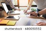 creative team job. young... | Shutterstock . vector #680050552