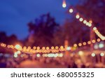 vintage tone blur image of... | Shutterstock . vector #680055325