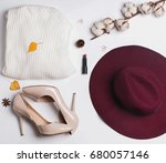 Autumn Stylish Woman's Outfit....
